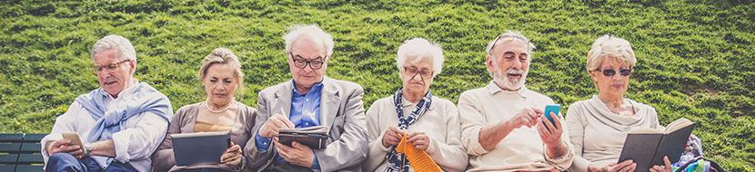 Услуги для пенсионеров